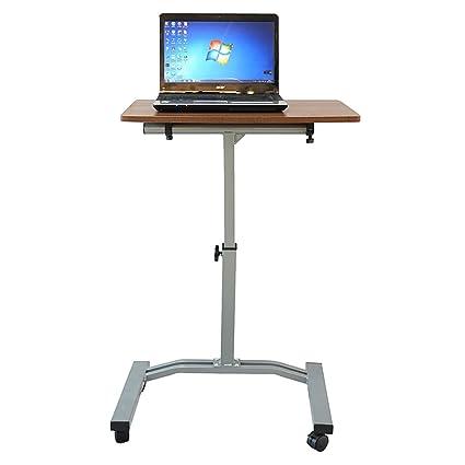 Incredible Amazon Com Mobile Laptop Desk Cart Height Adjustable Download Free Architecture Designs Embacsunscenecom