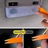 GOOACC 240PCS Bumper Retainer Clips Car Plastic