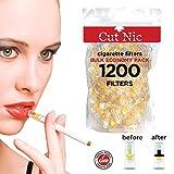 Cut-Nic 4 Hole Disposable Cigarette Filters - Bulk