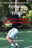 Programa de Entrenamiento del Servicio en el Tenis: ¡Sirva 10 a 20 mph más rápido en 90 días!