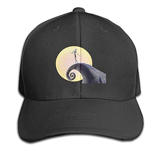 Karoda JACK's Nightmare Adjustable Baseball Cap/Hat Hip Hop Hat Black
