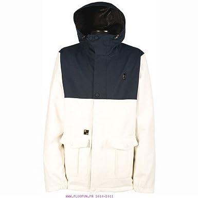 L1 Outerwear Vagrant Chaquetas Snowboard, Hombre, Blanco, S ...
