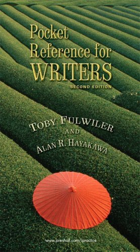 Pocket Reference for Writers (2nd Edition)