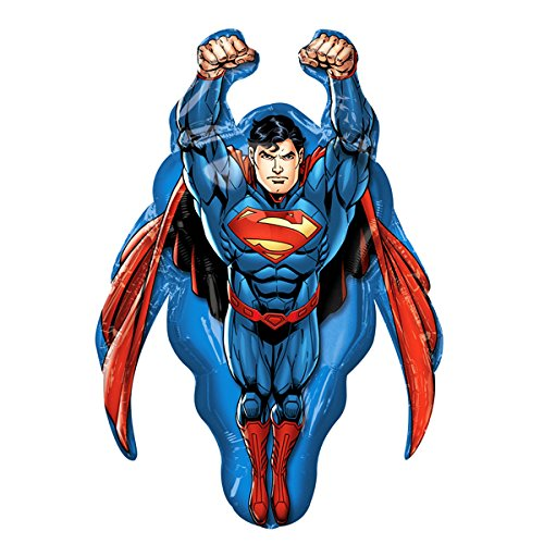 Superman Super Shape Mylar Balloon ()