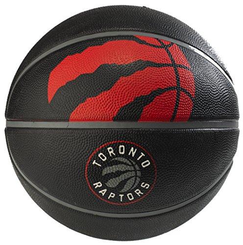 fan products of Spalding 71063E NBA Team Courtside Basketball - Toronto Raptors