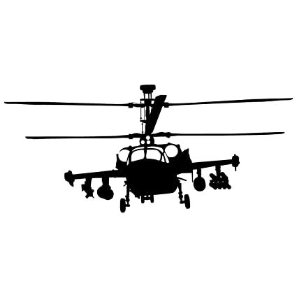 Amazon.com: Helicopter Wall Decals Sticker 1 - Decal Stickers and ...