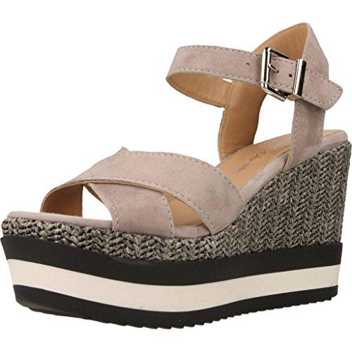 Sandalias y chanclas para mujer, color gris , marca ALPE, modelo Sandalias Y Chanclas Para Mujer ALPE FANTAS RETRO Gris gris