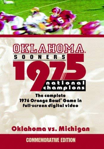 1975 Oklahoma National Championship Game: Oklahoma vs. Michigan