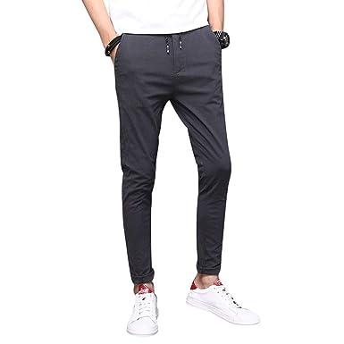 Pantalones Casuales De Los Hombres Pantalones De Pantalones ...