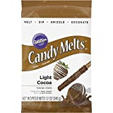 Wilton Light Candy Cocoa Melts 12-Ounce