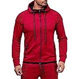GREFER Hot Sale Men's Hooded Sweatshirt Suit Autumn Long Sleeve Hoodie Top+Pants Set