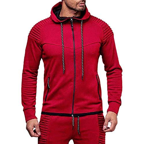 Men's Blouse, Limsea Autumn Long Sleeve Hoodie Sweatshirt Outwear Top - Hood Ornament Spider