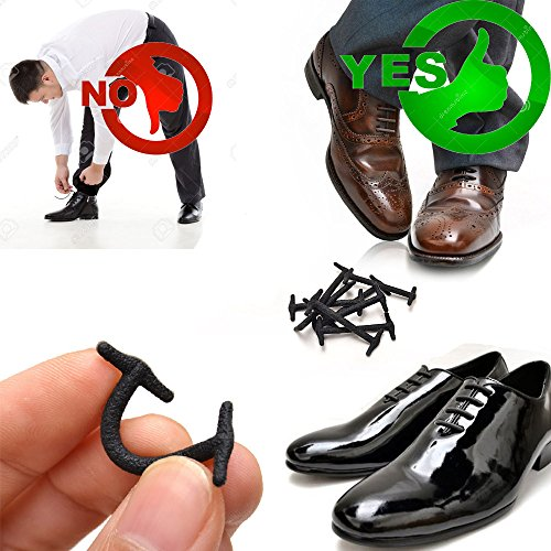 silkies no tie shoelaces for dress shoes silicone elastic