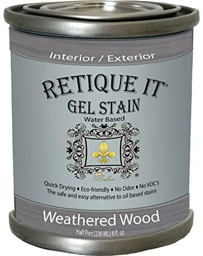 Water-Based Gel Stains by Retique It (8 oz Gel Stain
