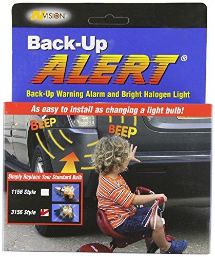 Hopkins 20101VA-CL-EN nVISION Back-Up Alert with Audible Back-Up Warning 3156 Style Light Bulb