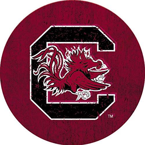 R and R Imports, Inc South Carolina Gamecocks NCAA Collegiateアンティーク調木目トレンディ4