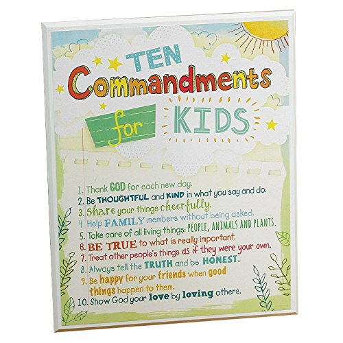 10 commandments for kids - 5