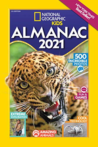 National Geographic Kids Almanac 2021, U.S. Edition (National Geographic Almanacs)
