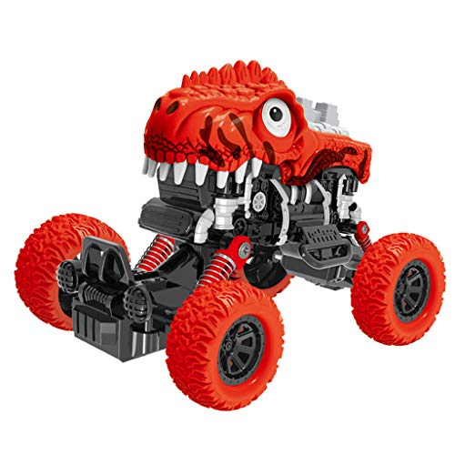 CapsA Pickup Dinosaur Buggy Toys for Baby Four-Wheel Drive Off-Road Vehicle Simulation Model Toy ()