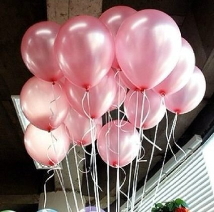 Lokman Pink Latex Balloons Pack product image