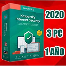 KASPERSKY INTERNET SECURITY 2020 1 AÑO 3PC LICENCIA ELECTRÓNICA