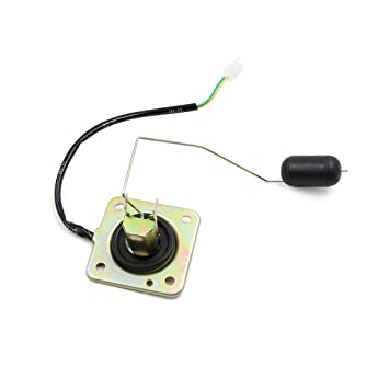 sourcing map Sensor Moto Gas Sensor Flotador del Nivel del Depósito de Combustible para Haojue zb125: Amazon.es: Coche y moto