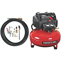 Porter-Cable C2002-WK UMC Pancake Compressor + Nailer Kit