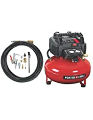 PORTER-CABLE C2002-WK Oil-Free UMC Pancake Compressor with 13...