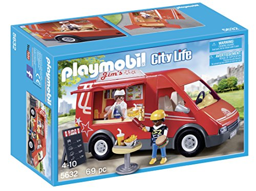 Food City (PLAYMOBIL City Food Truck)