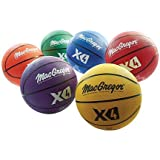 "MacGregor Multicolor Basketballs (Set of 6) - Junior Size (27.5"")"