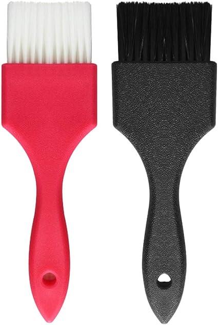 HEALLILY Cepillo de Color de Pelo Cepillo de Tinte para El Cabello Cepillo de Tinte para Peluquería Cepillo para Teñir El Cabello Cepillo de ...