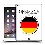 Head Case Designs German Flag Patches Protective Snap-on Hard Back Case Cover for Apple iPad Air 2