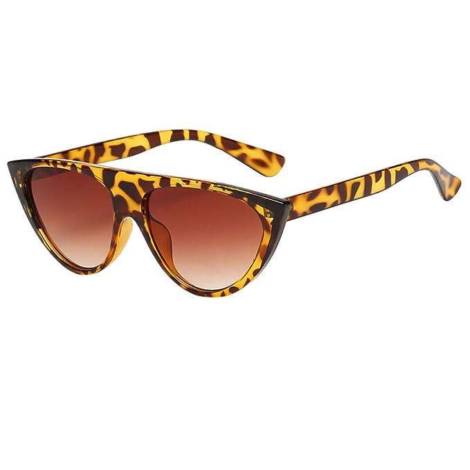 Moda Steampunk Gafas de Sol de Ojo de Gato,BBestseller Retro Protección UV Gafas de Sol Deportivas Polarizadas Vasos Planos: Amazon.es: Ropa y accesorios