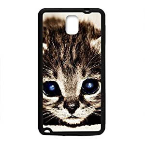 Beautiful Cute Cat With Blue Eyes Black Phone Case for Iphone 5/5S