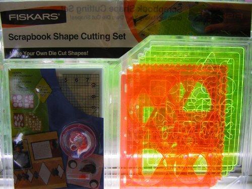 Fiskars Scrapbook Shape Cutting Set with Ultra ShapeXpress (Ultra Shape)