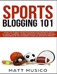 Image of the product Sports Blogging 101: How that is listed on the catalogue brand of .