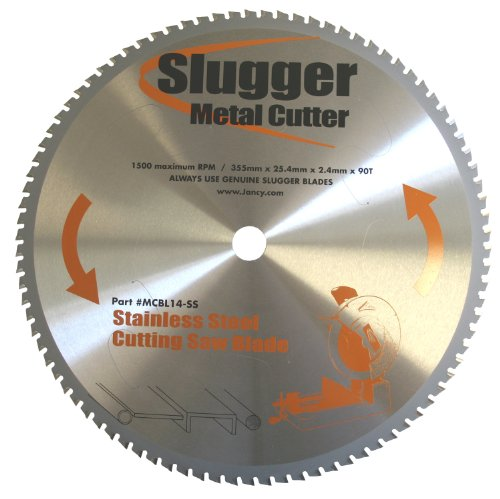 Jancy Slugger MCB14-SS Stainless Steel Cutting Saw Blade, 14'' Diameter, 90 Teeth by Jancy