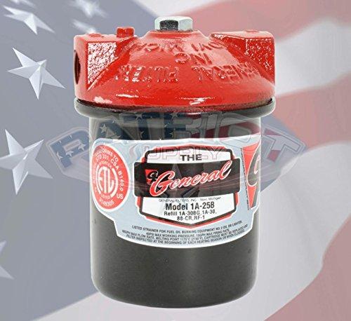 General Filter 1A-25B Standard Fuel Oil Filter, 3/8-Inch