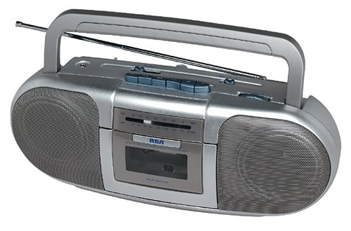 RCA RP7712S Cassette Player With Stereo AM/FM Radio by RCA