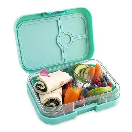 yumbox panino tahiti green leakproof bento lunch box container for kids adults buy online. Black Bedroom Furniture Sets. Home Design Ideas