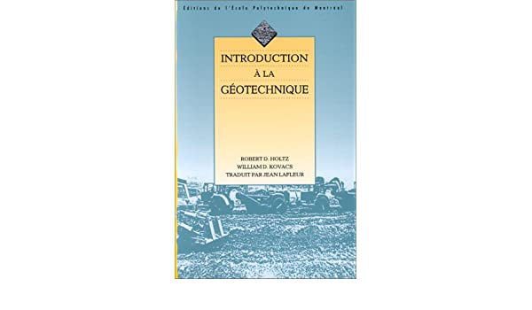 introduction a la geotechnique holtz