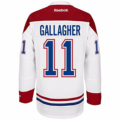 Brendan Gallagher Montreal Canadiens Reebok Premier Away Jersey NHL Replica (Montreal Canadiens Replica Jersey)