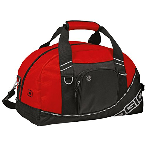 Ogio New Luggage Carry Bag Sac de sport Half Dome 4 couleurs Rouge / Noir