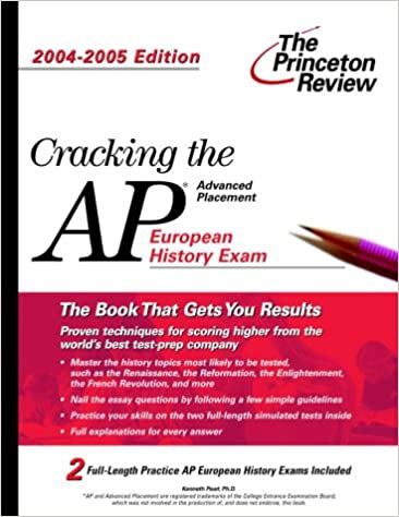 Essay About Learning English Language Amazoncom Cracking The Ap European History Exam  Edition  College Test Prep  Princeton Review Books Essay Paper Writing also Written Essay Papers Amazoncom Cracking The Ap European History Exam  Edition  Easy Persuasive Essay Topics For High School