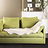 Living room sofa cushions,Simple [modern] White warm chair pads Ultra comfort Rug Soft-White 55x55cm(22x22inch)