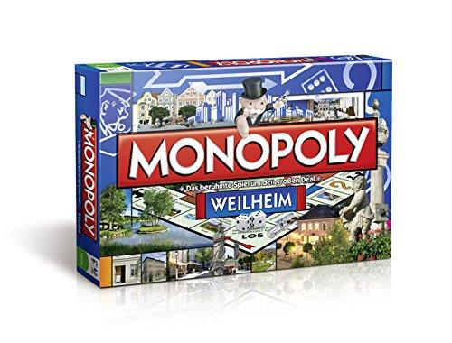 Winning Moves 42389 - Monopoly Weilheim