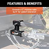 CURT 45792  Dual Receiver Trailer Hitch Ball Mount, 2-Inch, 3,500