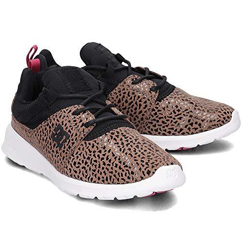 DC Donna Cheetah Sneaker Se J Top Print Shoes Heathrow Low 80rxw8Tq