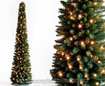 Wo Günstig Weihnachtsbaum Kaufen.Kunstpflanzen Discount Com Weihnachtsbaum Säule Mit Led Beleuchtung