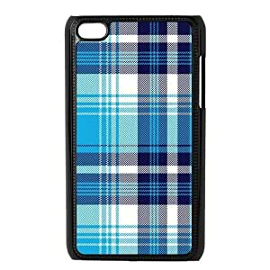 Custom Check Pattern Back Cover Case for Diy For Touch 5 Case Cover JNIPOD4-076